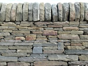 Masonry Contractor - Dry stone work wall