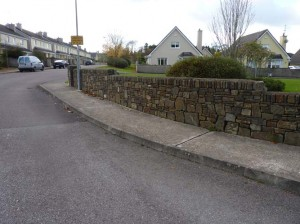Stone walls in Ladysbridge, Co. Cork